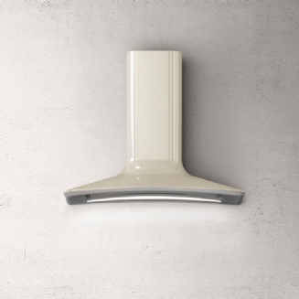 Elica DOLCE wall mount extractor in IVORY